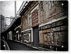 Melbourne Alley Acrylic Print by Kelly Jade King