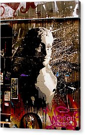Acrylic Print featuring the photograph Melbourne Graffiti IIi by Louise Fahy