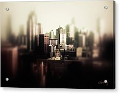 Acrylic Print featuring the photograph Melbourne Towers by Joseph Westrupp