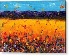 Melissa's Meadow Acrylic Print by Frances Marino