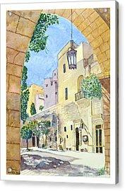 Mellieha Malta Acrylic Print