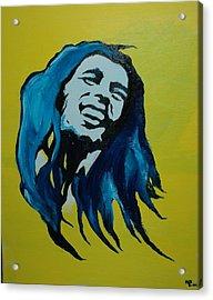 Mellow Marley Acrylic Print by Matt Burke