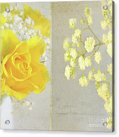 Acrylic Print featuring the photograph Mellow Yellow by Lyn Randle