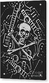 Melodic Death Metal Acrylic Print