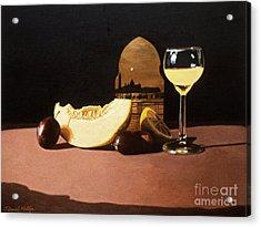 Melon And Orange Juice Acrylic Print by Daniel Montoya