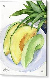 Melon Color Baby Acrylic Print