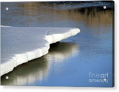 Acrylic Print featuring the photograph Melt Down by Edward R Wisell