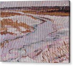 Melt Water Acrylic Print by Phil Chadwick