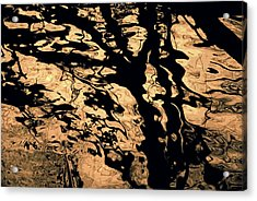 Melted Chocolate Acrylic Print