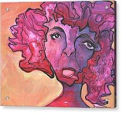 Melting Point Acrylic Print