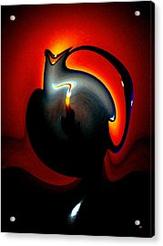 Melting Point Acrylic Print by Will Borden