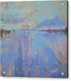 Melting Reflections Acrylic Print by Laura Lee Zanghetti