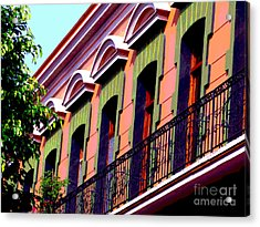 Melville Balcony By Darian Day Acrylic Print by Mexicolors Art Photography