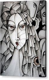 Memoirs Of A Geisha Acrylic Print by Simona  Mereu