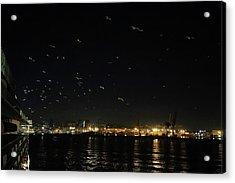Memorable Naples Evening Departure Acrylic Print