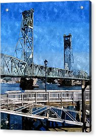 Memorial Bridge Mbwc Acrylic Print