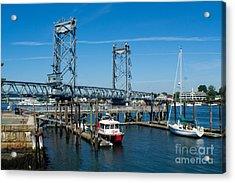 Memorial Bridge Portsmouth Acrylic Print