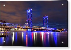 Acrylic Print featuring the photograph Memorial Bridge by Robert Clifford