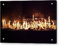 Memorial Candles Acrylic Print