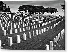 Memorial Day 2016 - Fort Rosecrans Acrylic Print