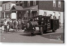 Memorial Day Parade  Ashley Pa  Corner Of W Hartford And Brown  Circa 1965 Acrylic Print
