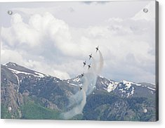 Acrylic Print featuring the photograph Memorial Pass by Bryan Carter