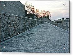 Memorial Steps Acrylic Print
