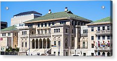 Memorial Union - Madison, Wisconsin Acrylic Print by Steven Ralser