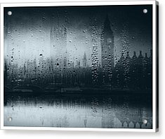 Acrylic Print featuring the digital art Mystical London by Fine Art By Andrew David