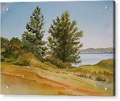 Memories By The Lake Acrylic Print