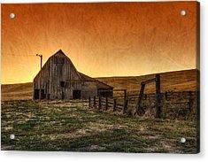 Memories Of Harvest Acrylic Print by Mark Kiver