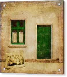 Memories Of Irish Green Acrylic Print by Bellesouth Studio