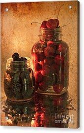 Memories Of Jams, Preserves And Jellies  Acrylic Print