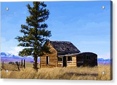 Memories Of Montana Acrylic Print