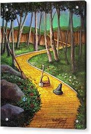 Memories Of Oz Acrylic Print