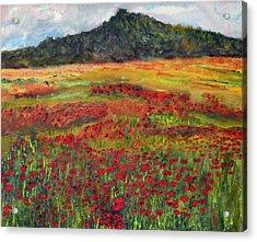 Memories Of Provence Acrylic Print