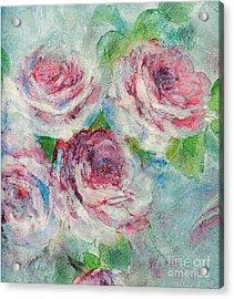 Memories Of Roses Acrylic Print