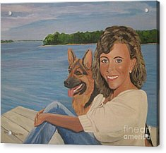 Memories Of Stephanie In Freeport Acrylic Print