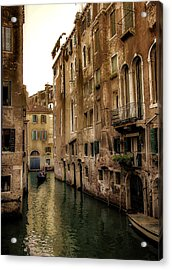 Memories Of Venice Acrylic Print