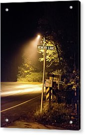 Acrylic Print featuring the photograph Memory Lane by Geoffrey Lewis