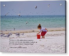Acrylic Print featuring the photograph Memory by Peggy Hughes