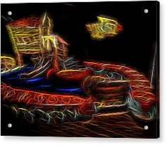 Memory's Playground Acrylic Print by William Horden