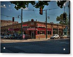 Acrylic Print featuring the photograph Memphis - Arcade Restaurant 001 by Lance Vaughn