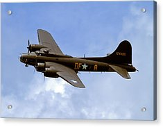 Memphis Belle Acrylic Print by Bill Lindsay