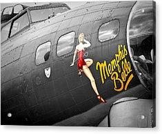 Memphis Belle Acrylic Print