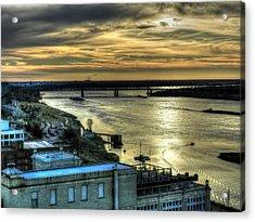Memphis Fall Hdr 003 Acrylic Print by Lance Vaughn