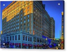 Memphis Peabody Hotel Acrylic Print