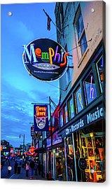 Memphis Soul Acrylic Print