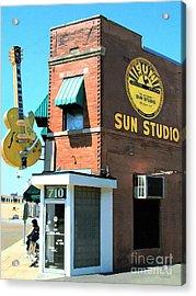 Memphis Sun Studio Birthplace Of Rock And Roll 20160215 Acrylic Print