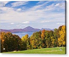 Memphremagog Autumn Acrylic Print